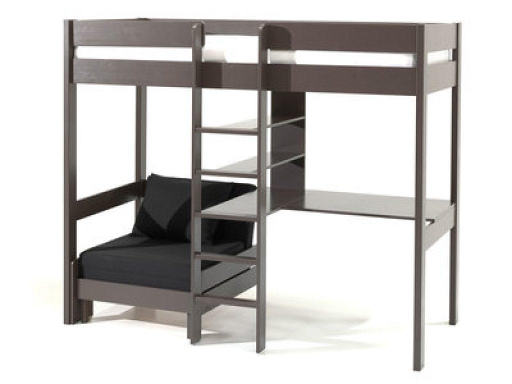Voici un lit mezzanine